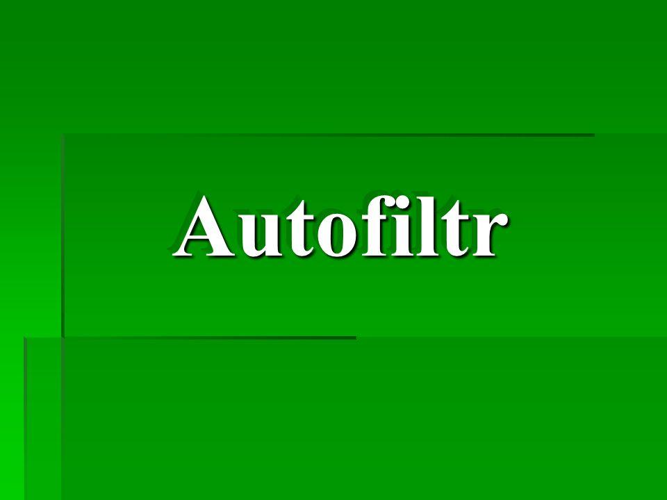 Autofiltr