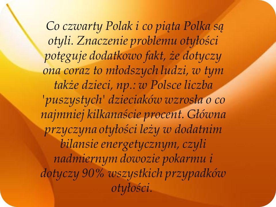 Co czwarty Polak i co piąta Polka są otyli