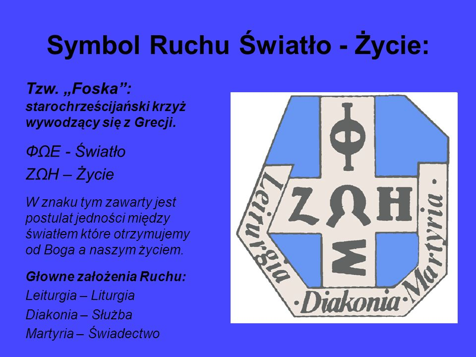 Symbol Ruchu Światło - Życie: