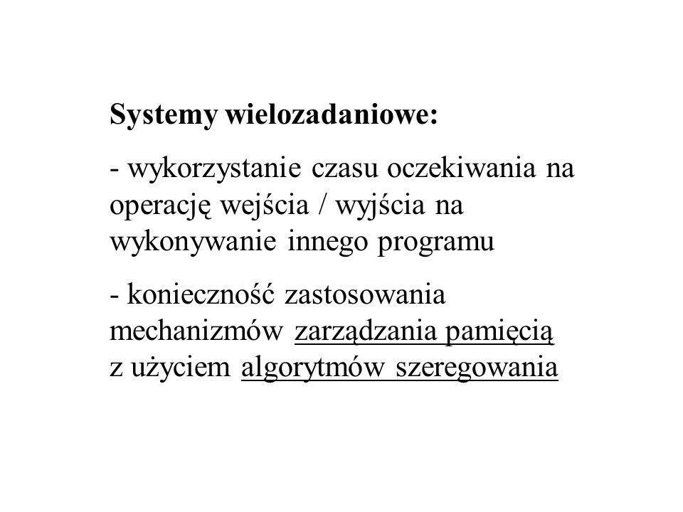 Systemy wielozadaniowe: