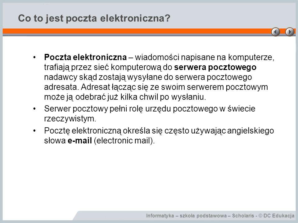 Co to jest poczta elektroniczna