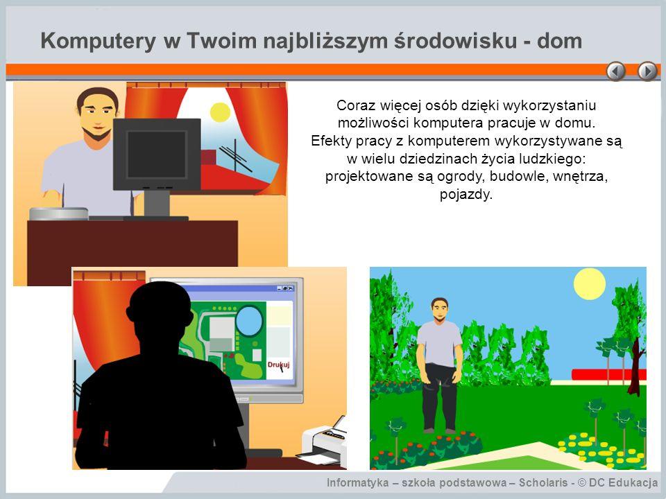 Komputery w Twoim najbliższym środowisku - dom