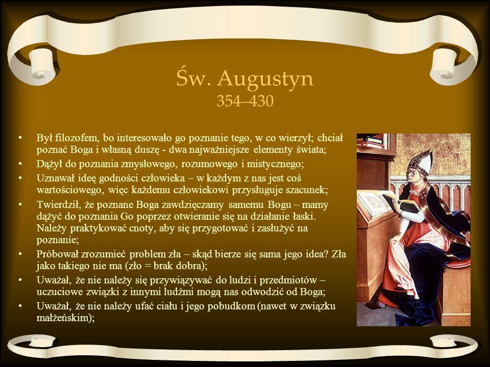 Św. Augustyn 354–430