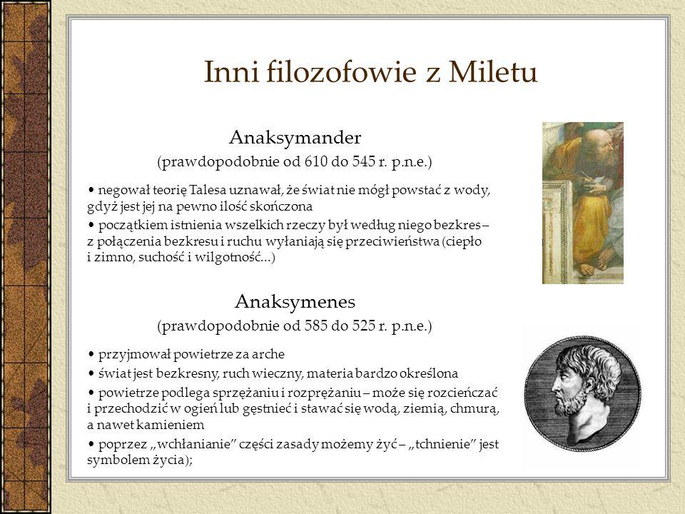 Inni filozofowie z Miletu