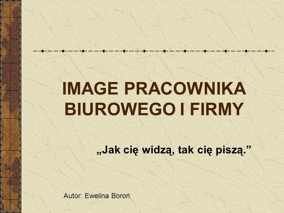 IMAGE PRACOWNIKA BIUROWEGO I FIRMY