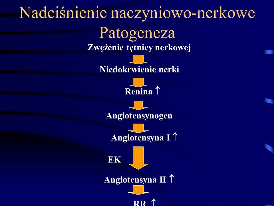 Nadciśnienie naczyniowo-nerkowe Patogeneza