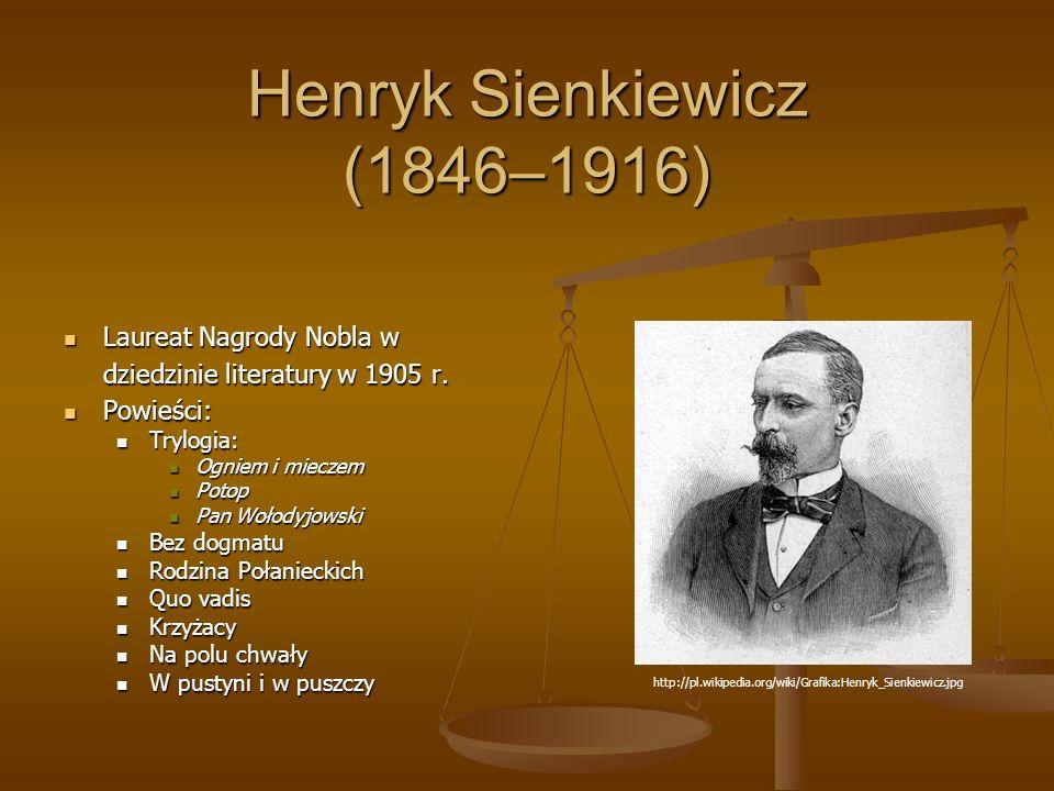 Henryk Sienkiewicz (1846–1916)