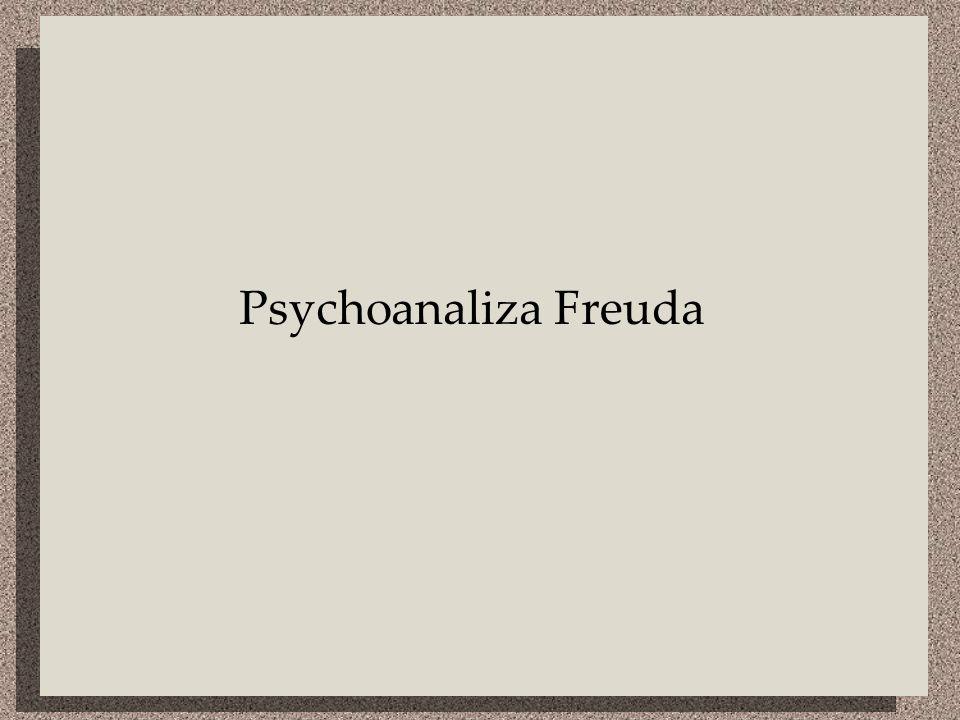 Psychoanaliza Freuda