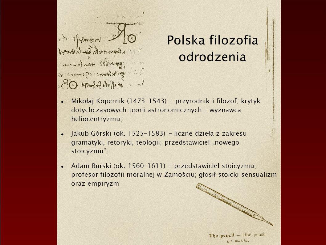 Polska filozofia odrodzenia