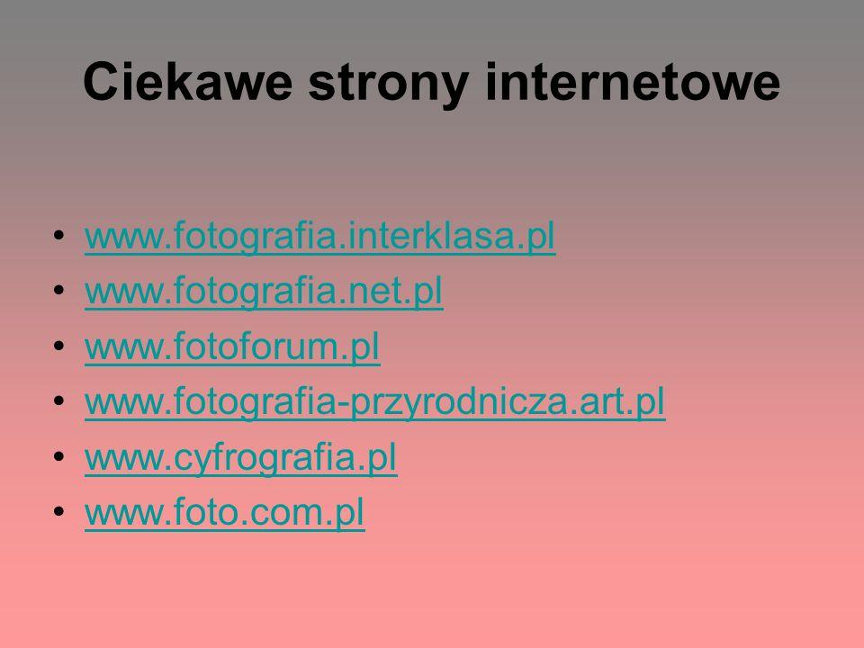 Ciekawe strony internetowe