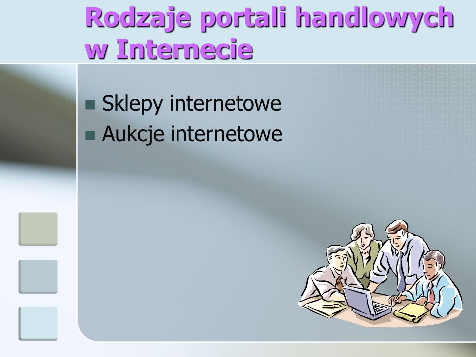 Rodzaje portali handlowych w Internecie