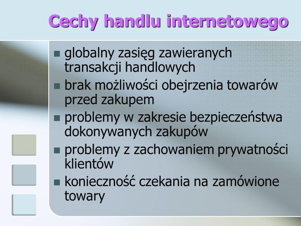 Cechy handlu internetowego