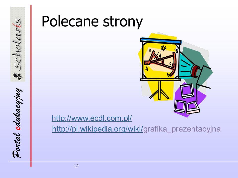 Polecane strony http://www.ecdl.com.pl/