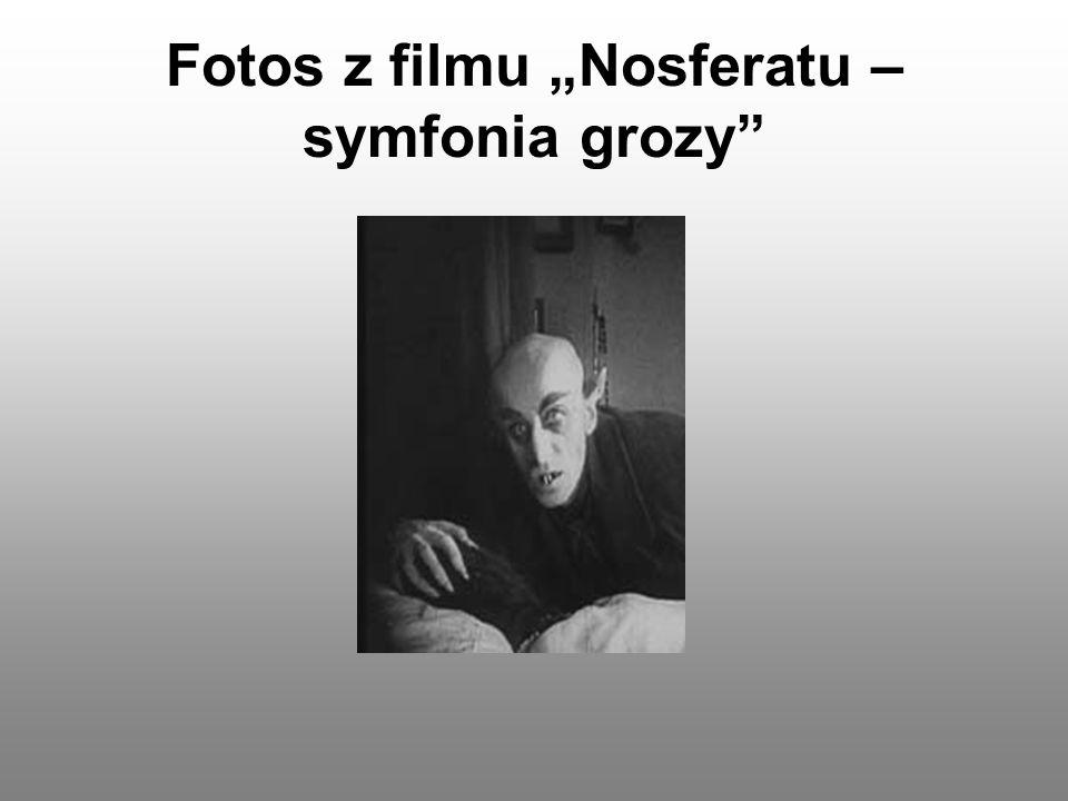 """Fotos z filmu """"Nosferatu – symfonia grozy"""