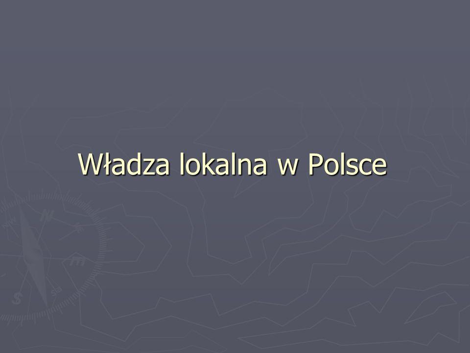 Władza lokalna w Polsce