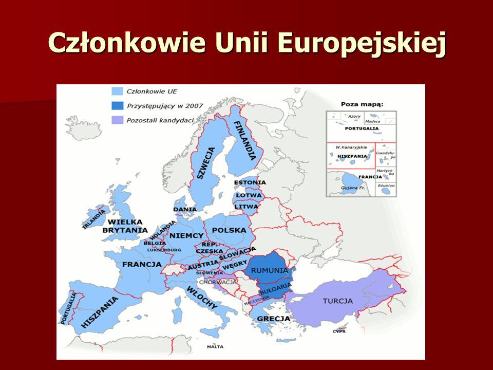 Członkowie Unii Europejskiej