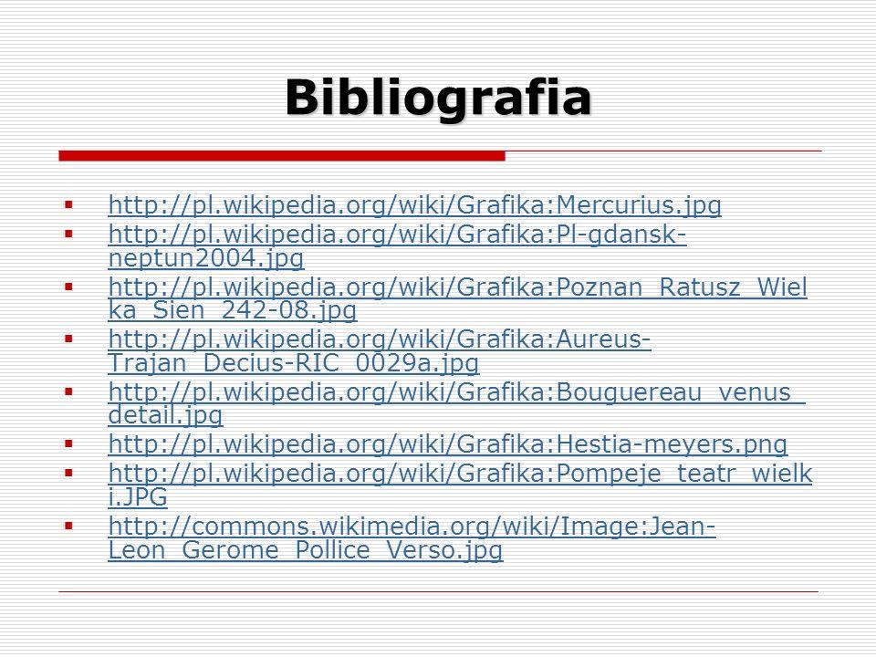 Bibliografia http://pl.wikipedia.org/wiki/Grafika:Mercurius.jpg