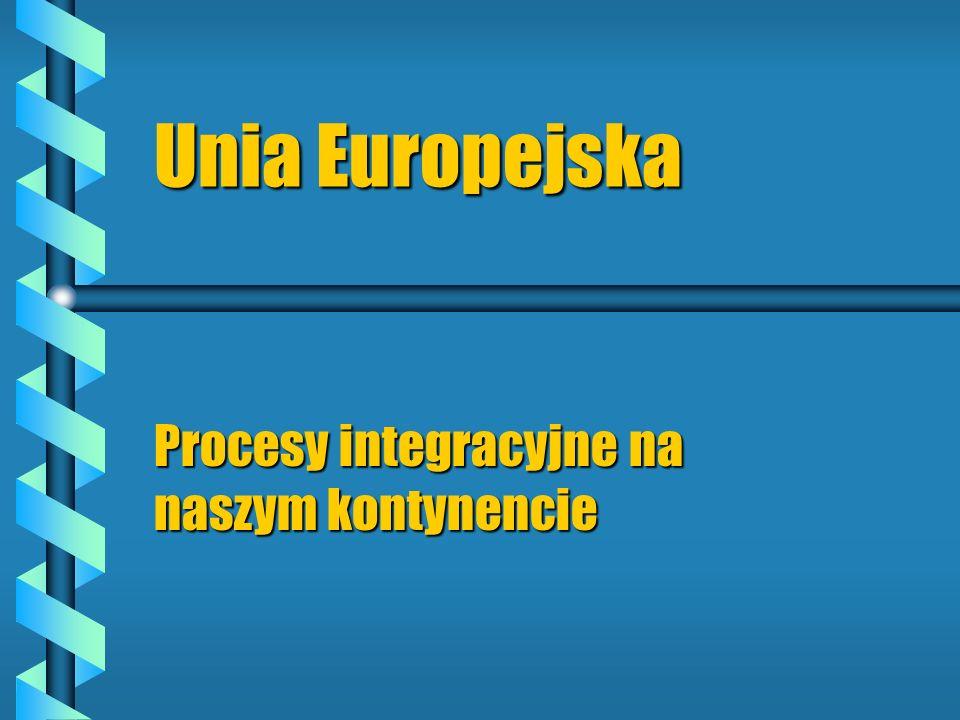 Procesy integracyjne na naszym kontynencie