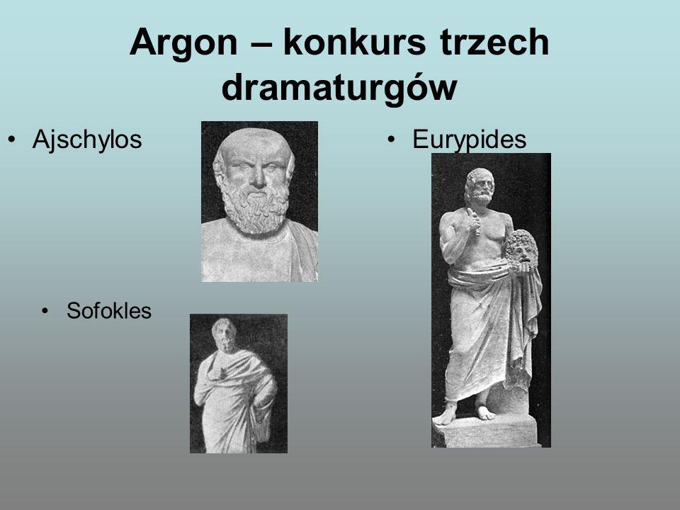 Argon – konkurs trzech dramaturgów