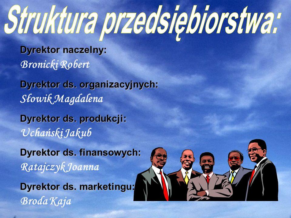 Struktura przedsiębiorstwa: