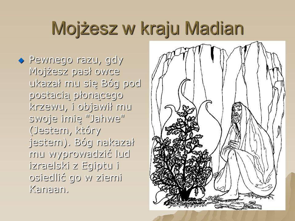 Mojżesz w kraju Madian