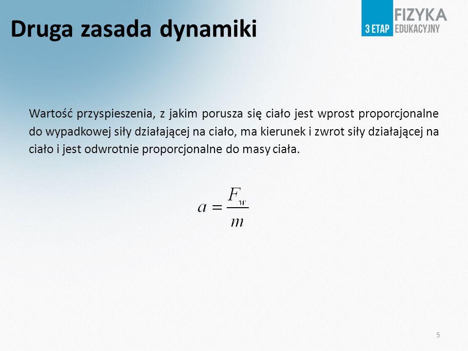 Druga zasada dynamiki