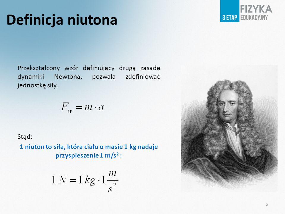 Definicja niutona