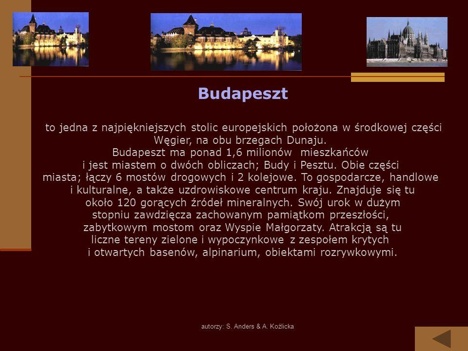 Budapeszt Węgier, na obu brzegach Dunaju.