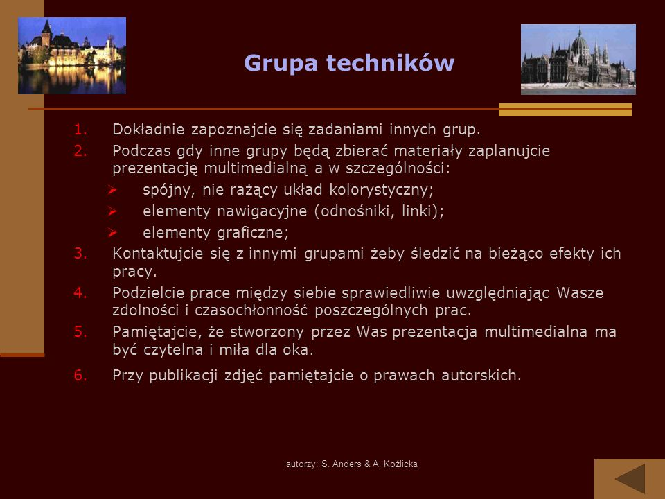 autorzy: S. Anders & A. Koźlicka