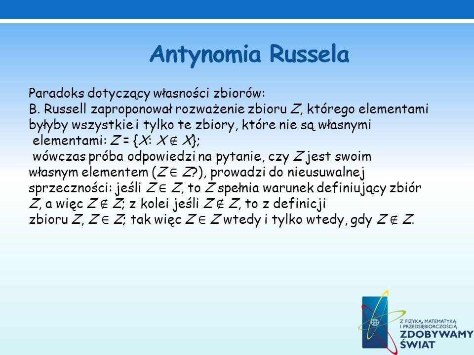 Antynomia Russela