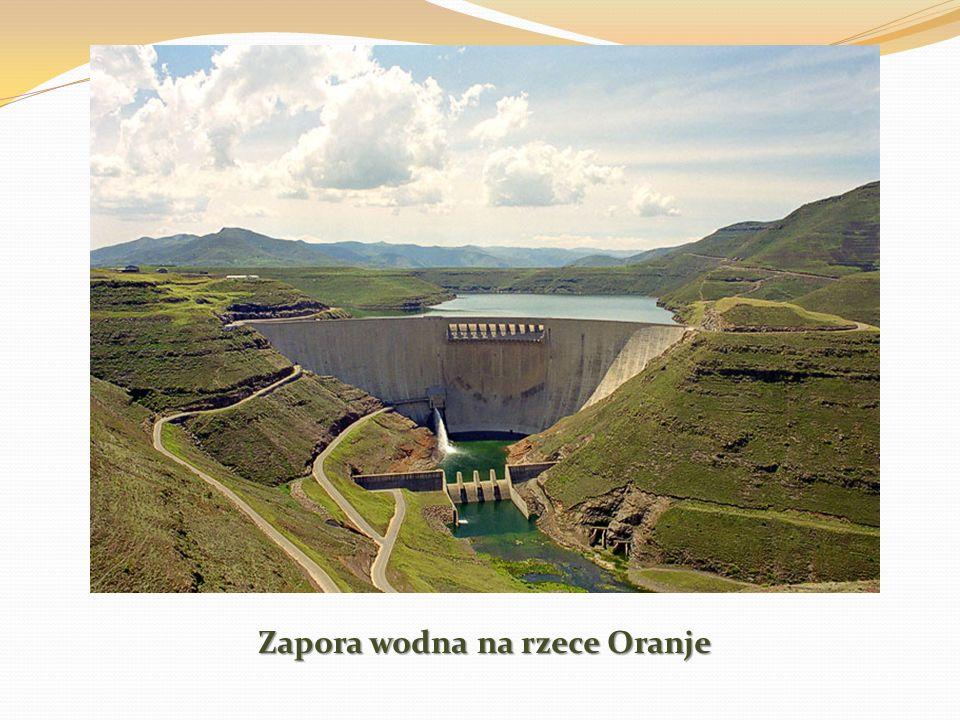 Zapora wodna na rzece Oranje