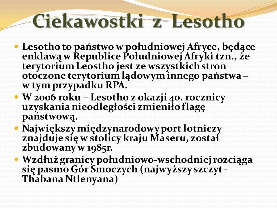 Ciekawostki z Lesotho