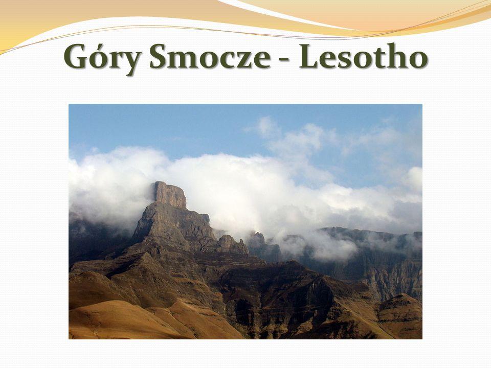 Góry Smocze - Lesotho