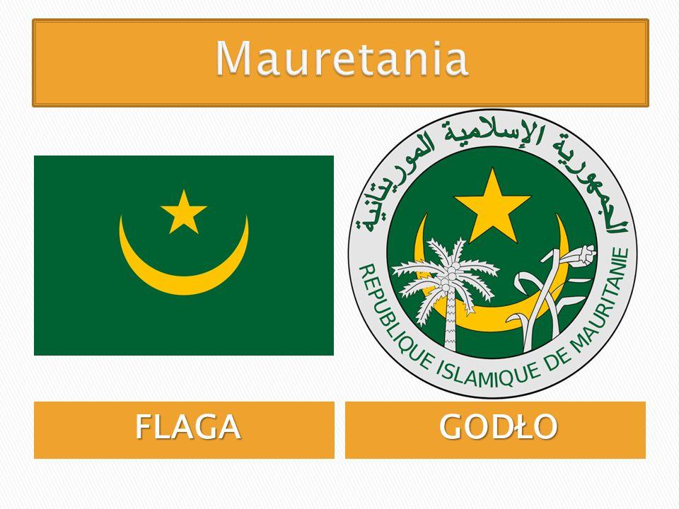 Mauretania FLAGA GODŁO