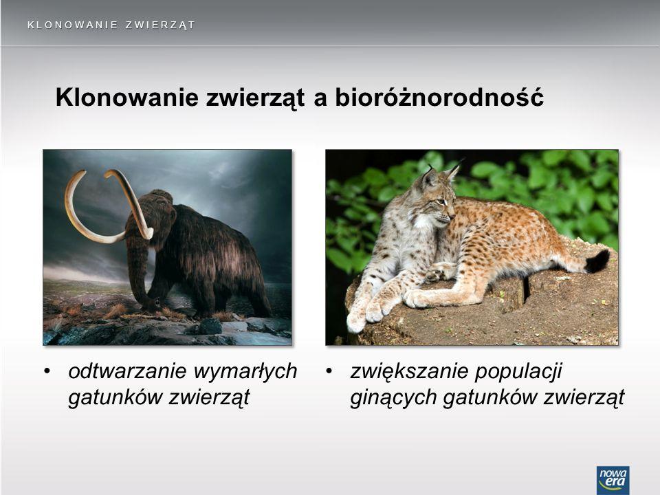 Klonowanie zwierząt a bioróżnorodność