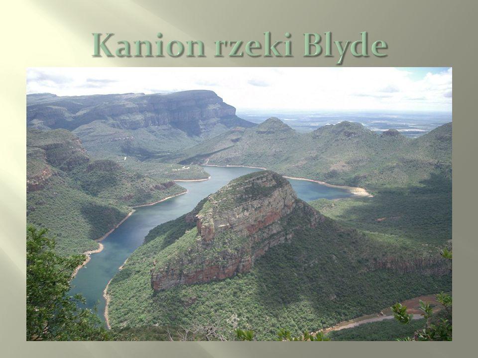Kanion rzeki Blyde
