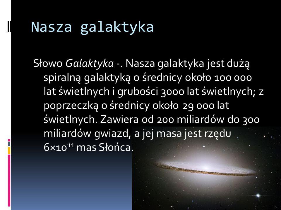 Nasza galaktyka