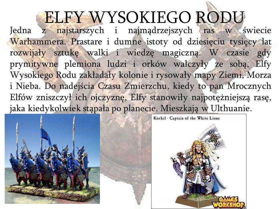 ELFY WYSOKIEGO RODU
