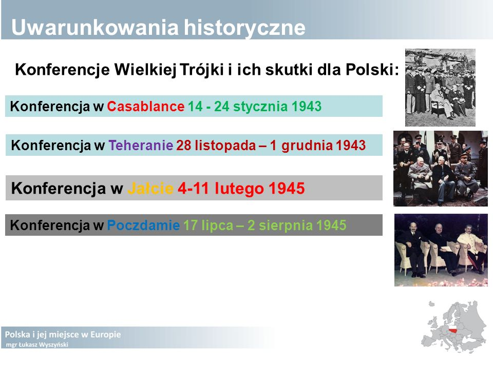 Uwarunkowania historyczne