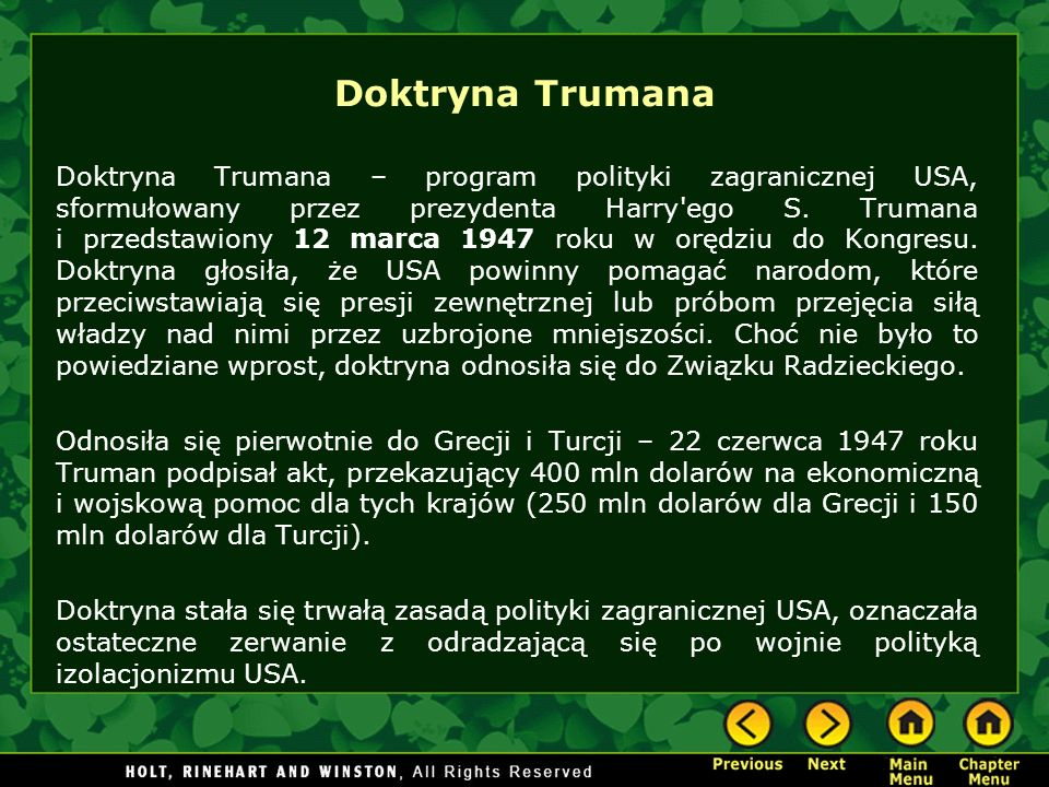 Doktryna Trumana