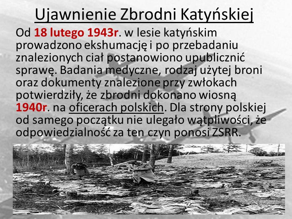 Ujawnienie Zbrodni Katyńskiej