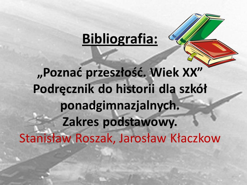 """Bibliografia: """"Poznać przeszłość"""