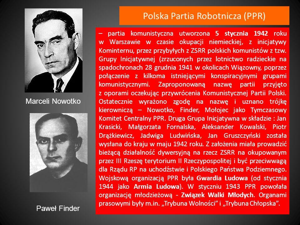 Polska Partia Robotnicza (PPR)