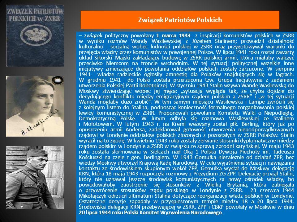 Związek Patriotów Polskich