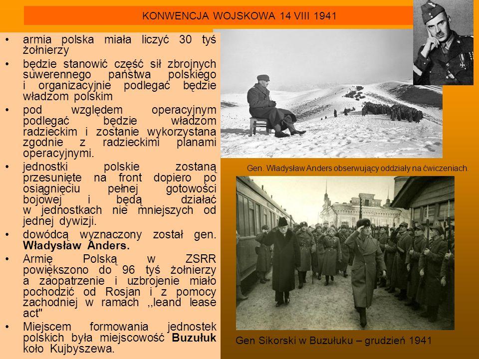 KONWENCJA WOJSKOWA 14 VIII 1941