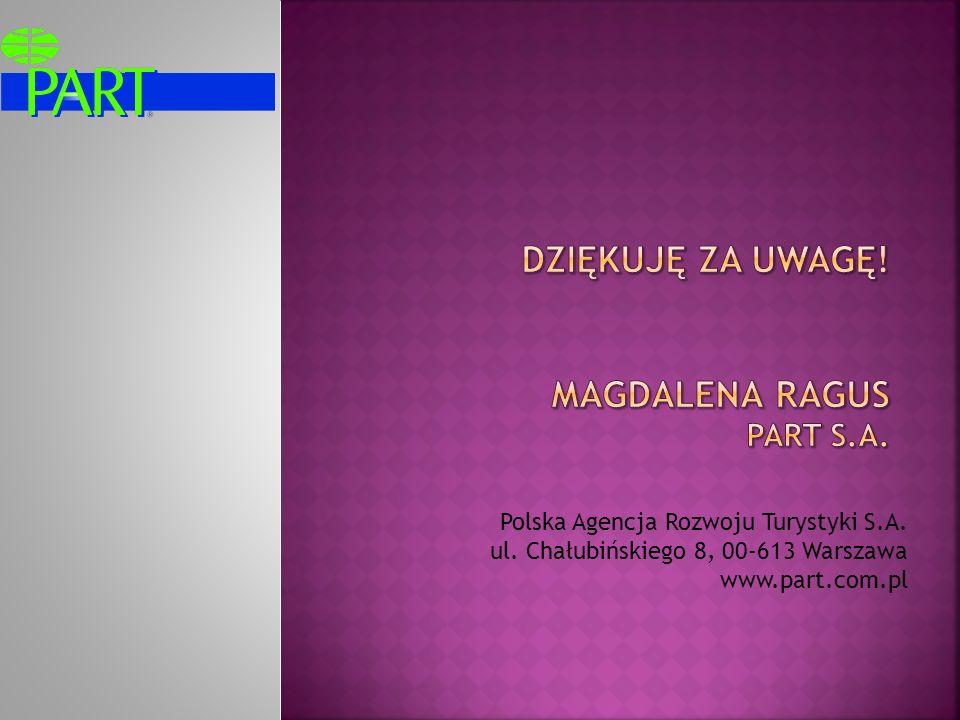 DZIĘKUJĘ ZA UWAGĘ! Magdalena ragus PART S.A.