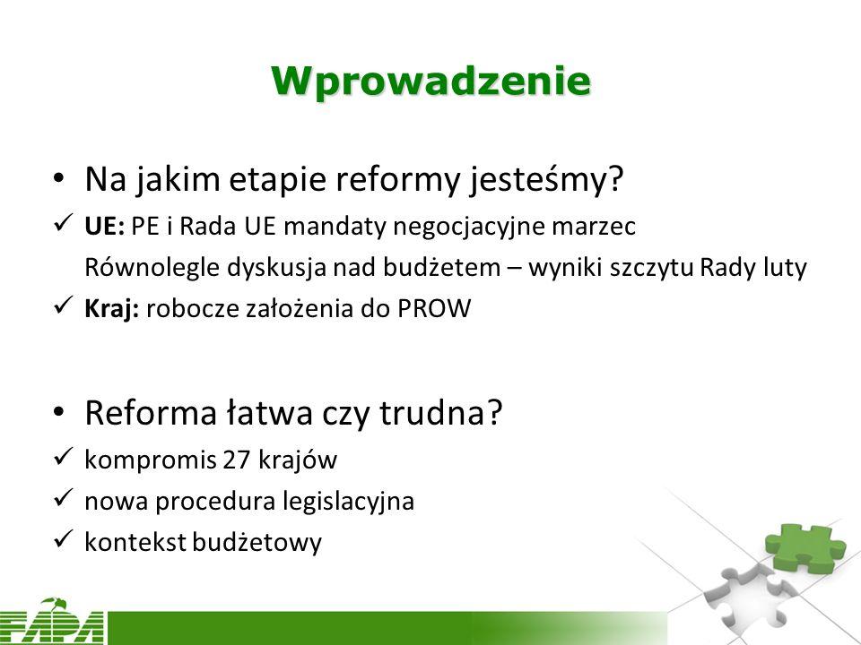 Na jakim etapie reformy jesteśmy