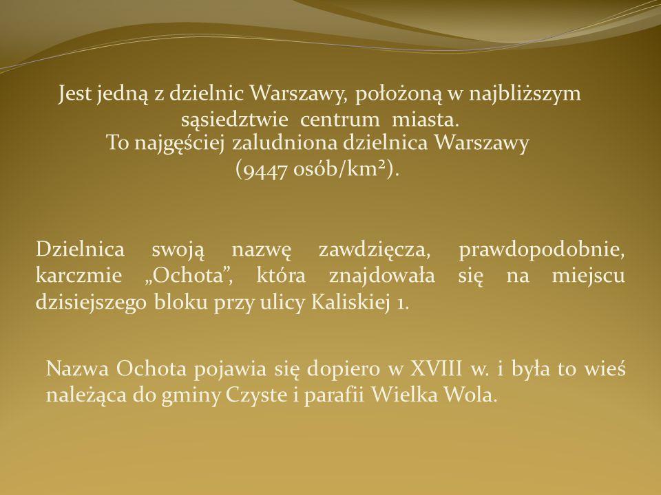 To najgęściej zaludniona dzielnica Warszawy