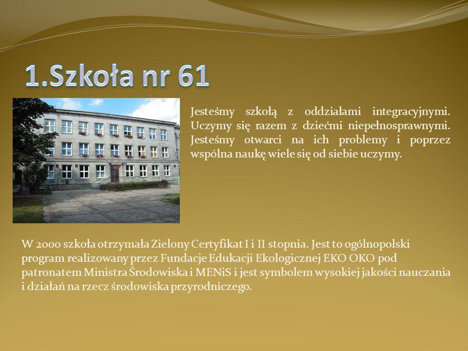 1.Szkoła nr 61