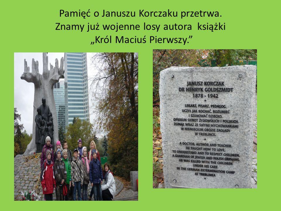 Pamięć o Januszu Korczaku przetrwa